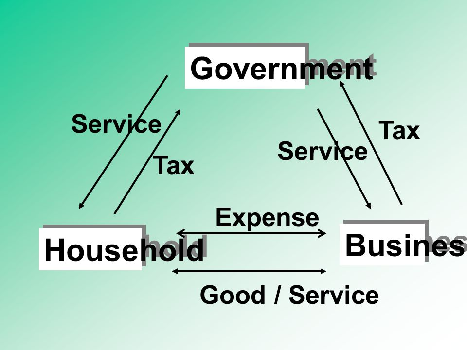 Government Business Household Tax Service Good / Service Expense