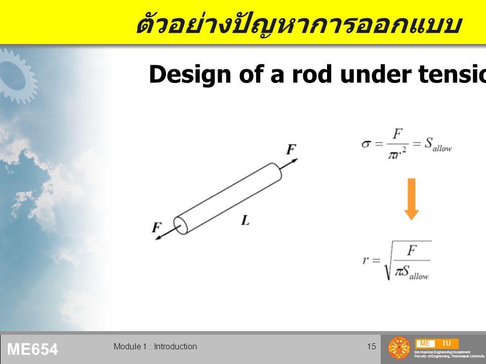 ตัวอย่างปัญหาการออกแบบ