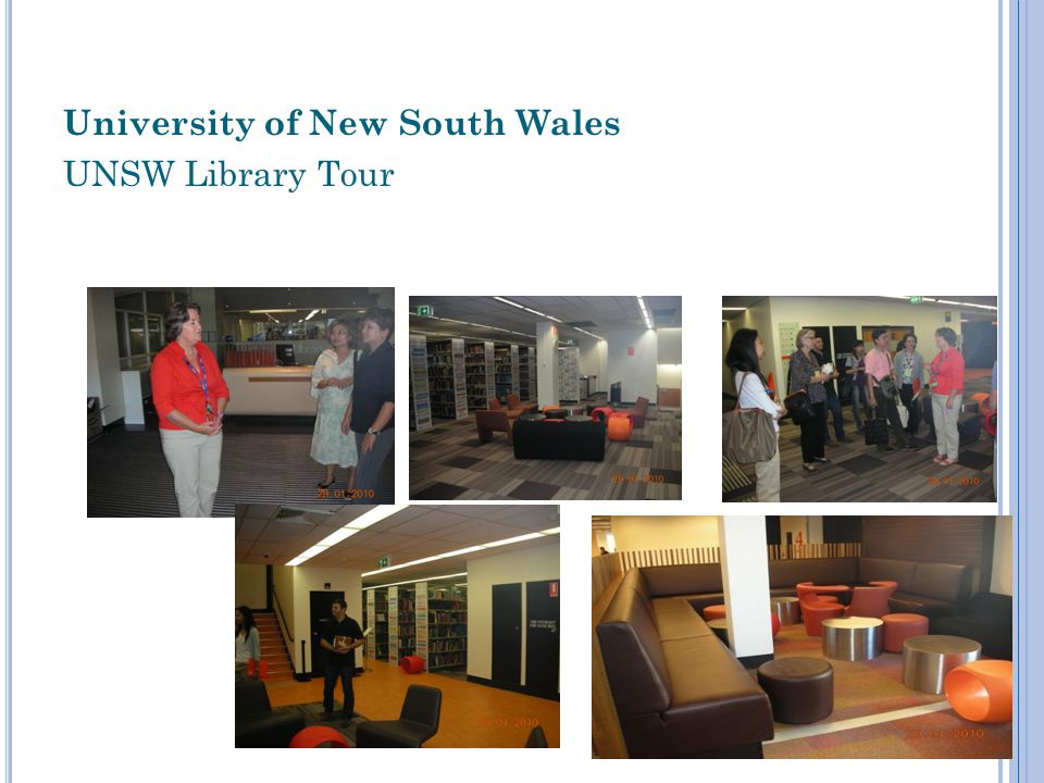University of New South Wales UNSW Library Tour