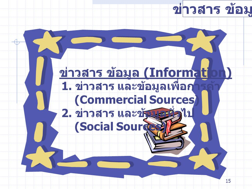 ข่าวสาร ข้อมูล ข่าวสาร ข้อมูล (Information)