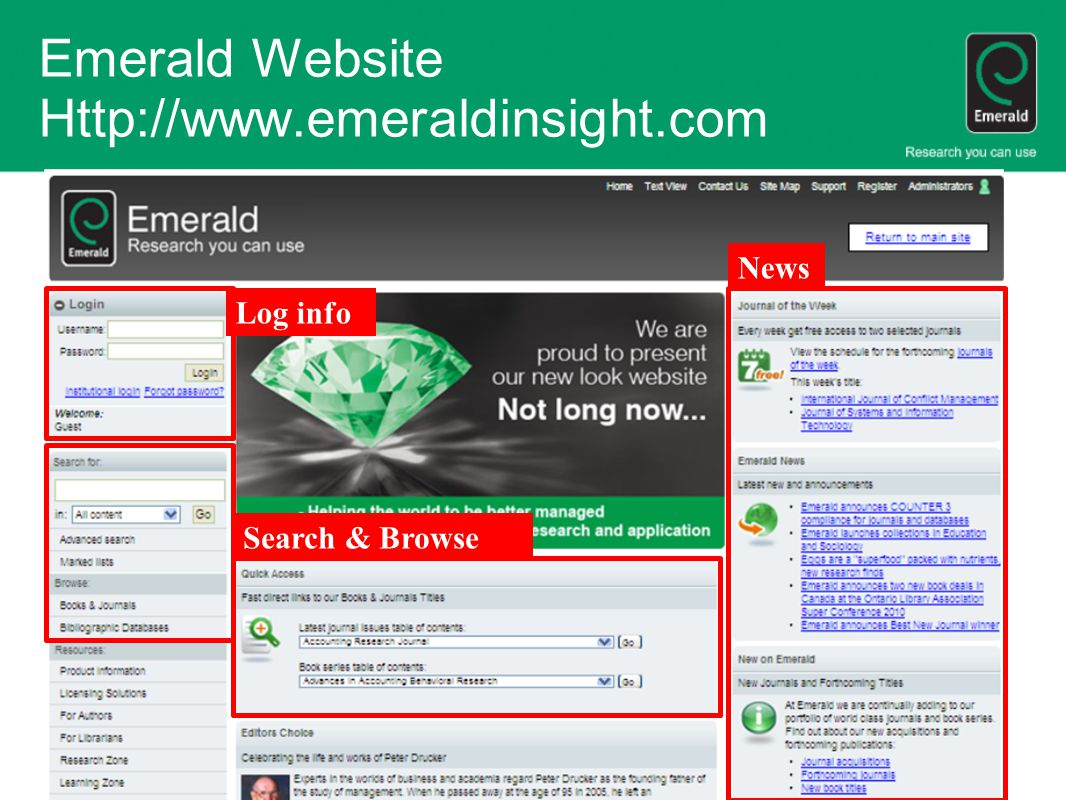Emerald Website