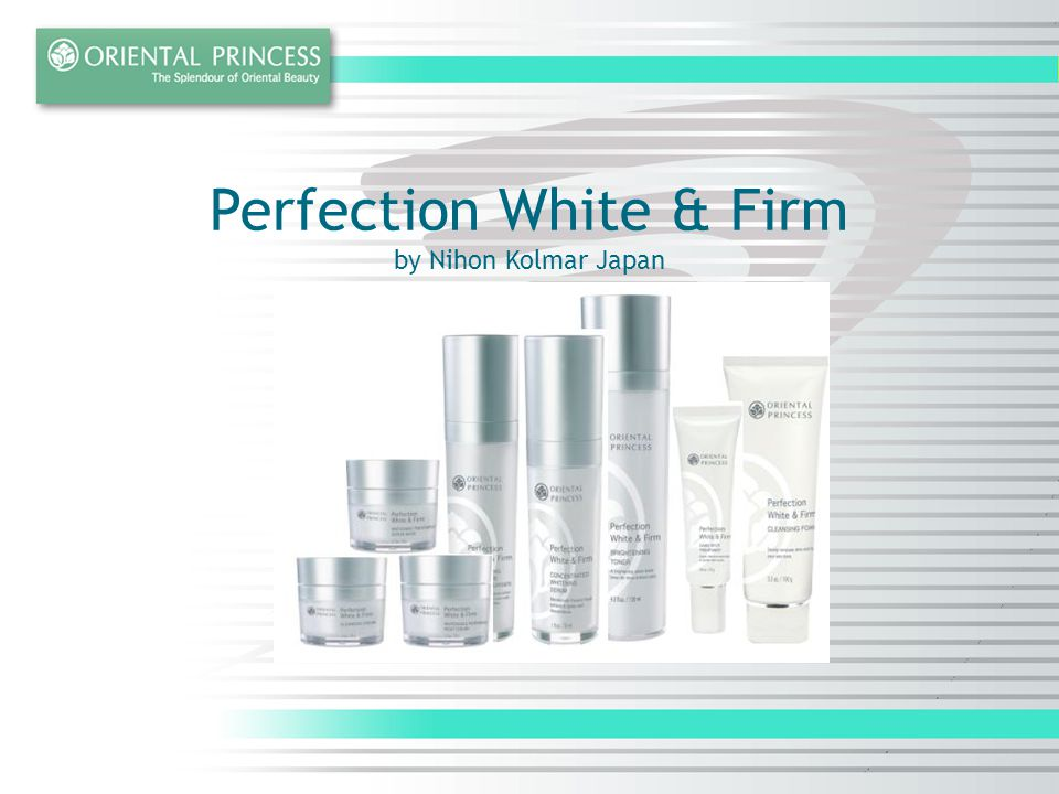 Perfection White & Firm