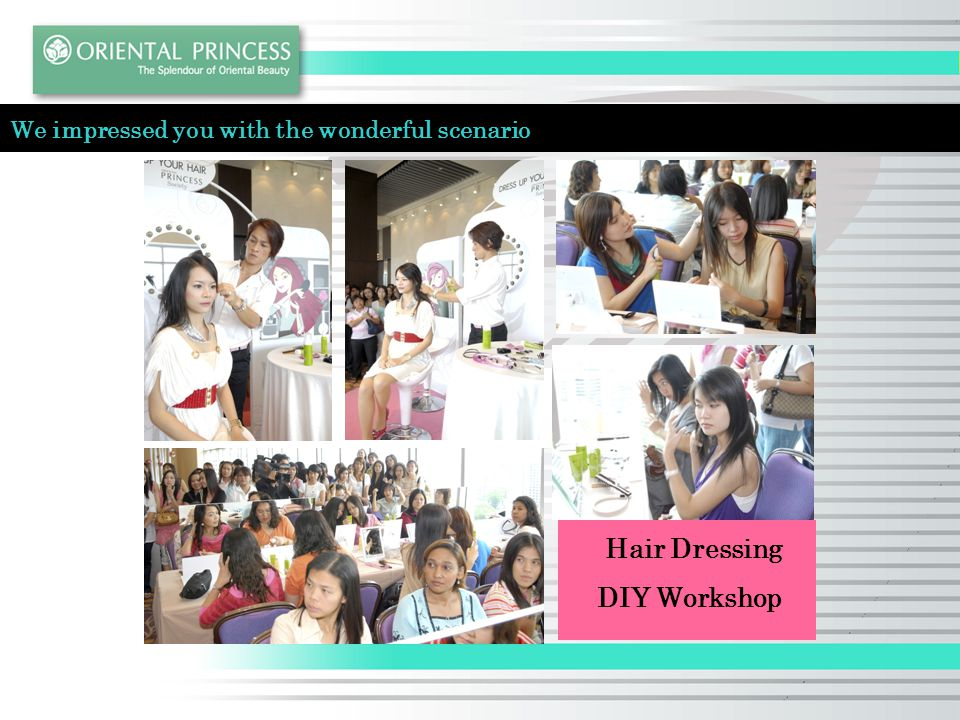 Hair Dressing DIY Workshop