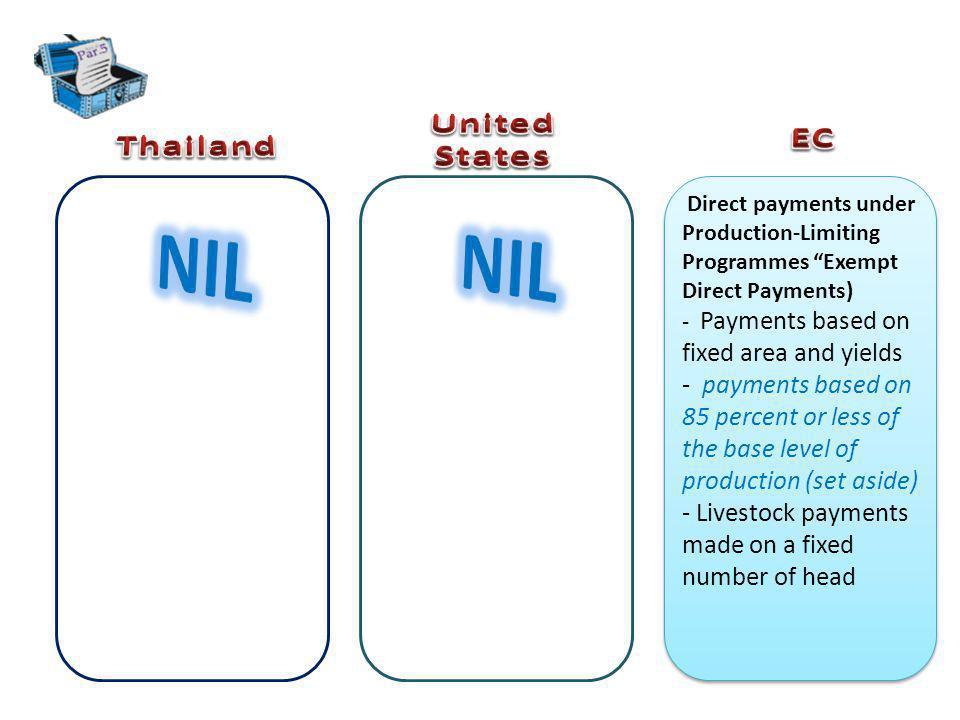 NIL NIL United States EC Thailand