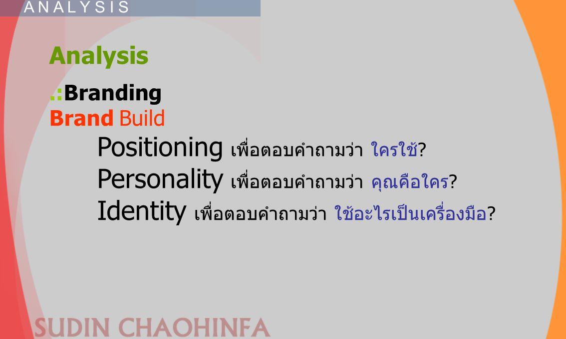 Identity เพื่อตอบคำถามว่า ใช้อะไรเป็นเครื่องมือ