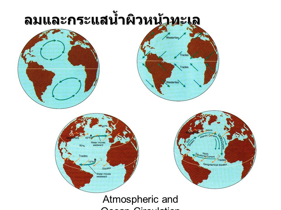 Atmospheric and Ocean Circulation