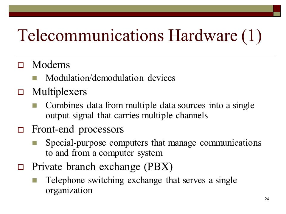 Telecommunications Hardware (1)
