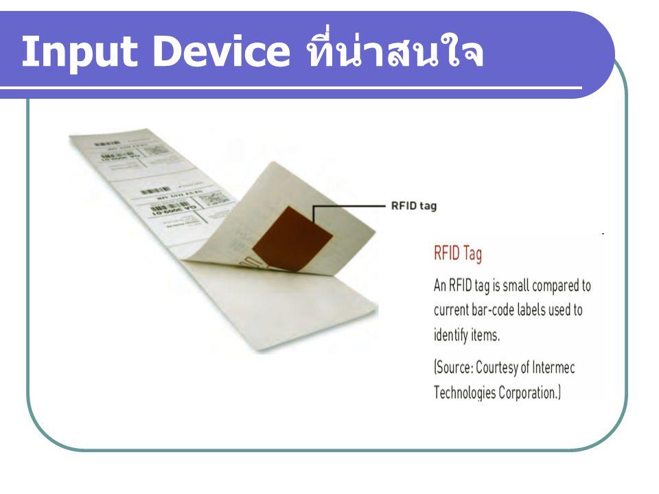 Input Device ที่น่าสนใจ