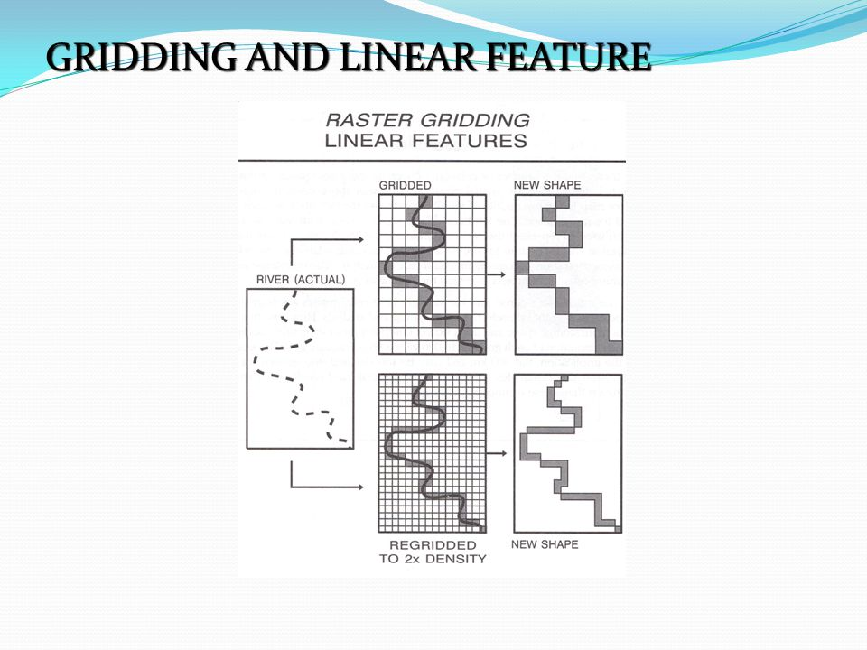 GRIDDING AND LINEAR FEATURE