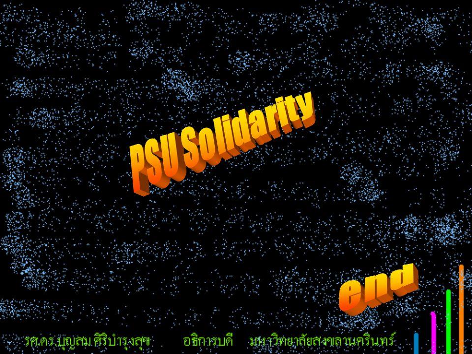 PSU Solidarity end