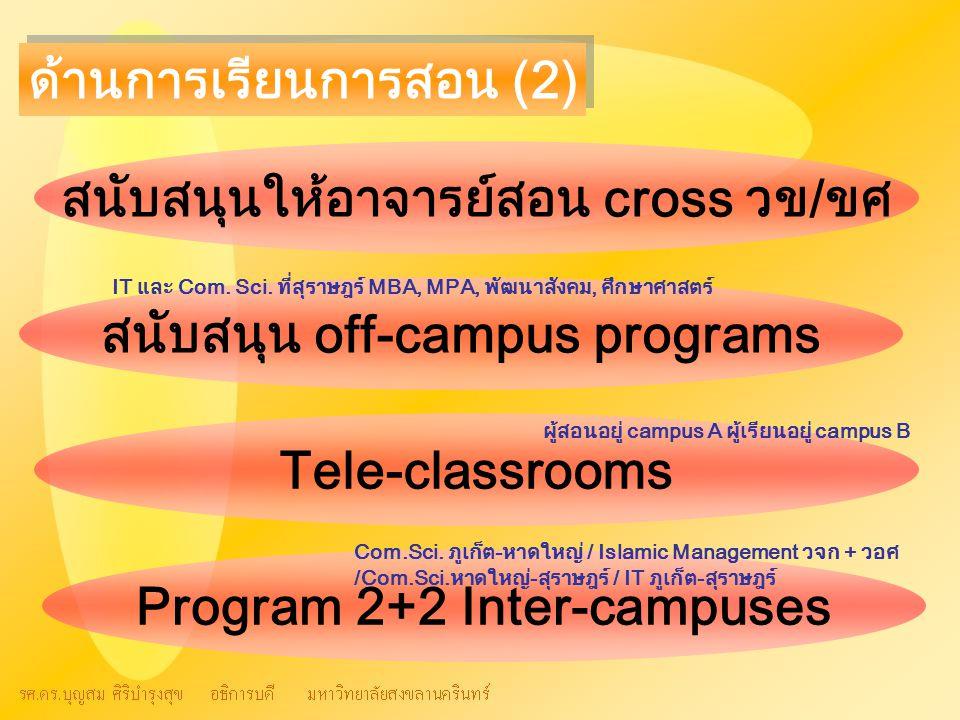 ด้านการเรียนการสอน (2)