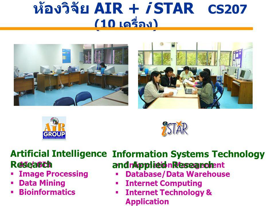 ห้องวิจัย AIR + i STAR CS207 (10 เครื่อง)
