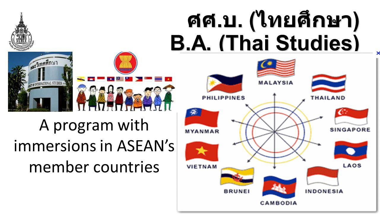 ศศ.บ. (ไทยศึกษา) B.A. (Thai Studies)