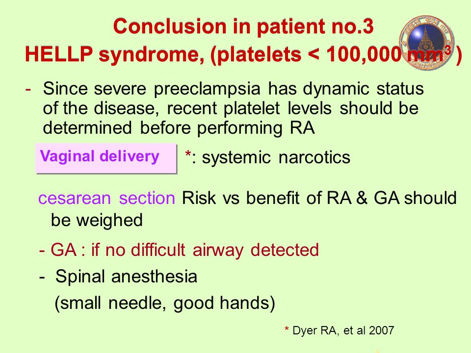 Conclusion in patient no.3