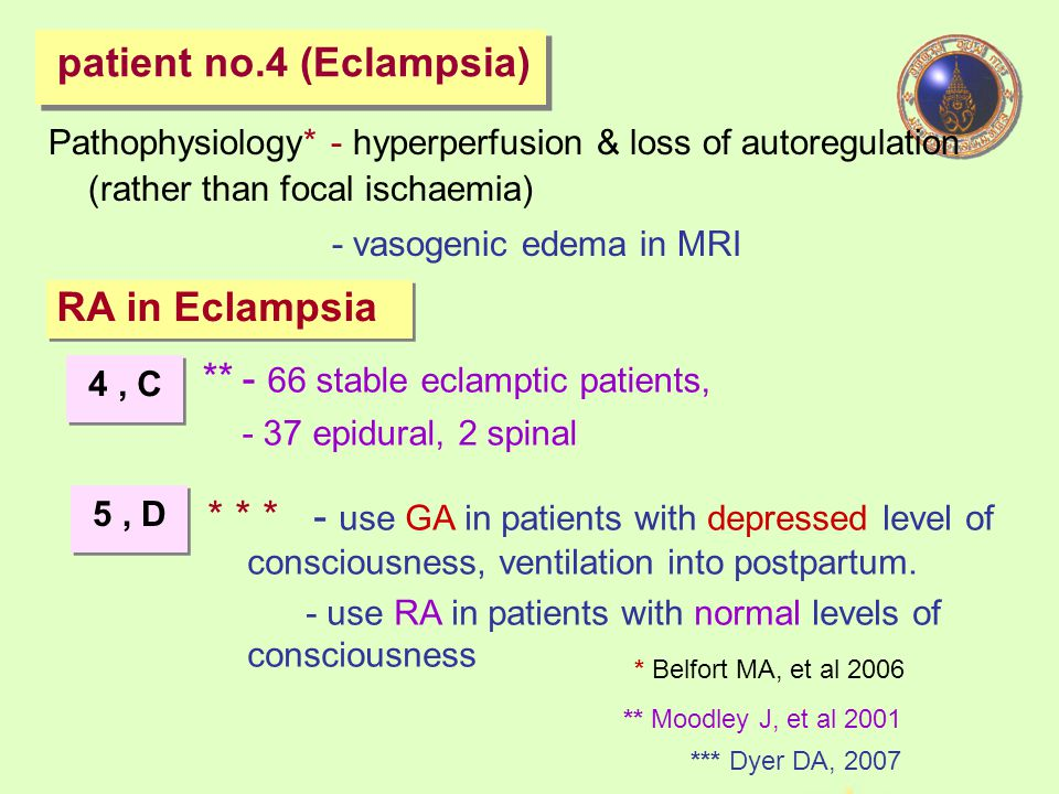 patient no.4 (Eclampsia)