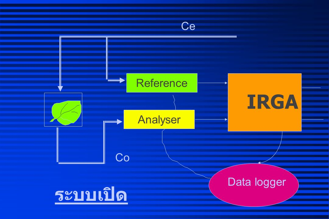 Ce Reference IRGA Analyser Co Data logger ระบบเปิด