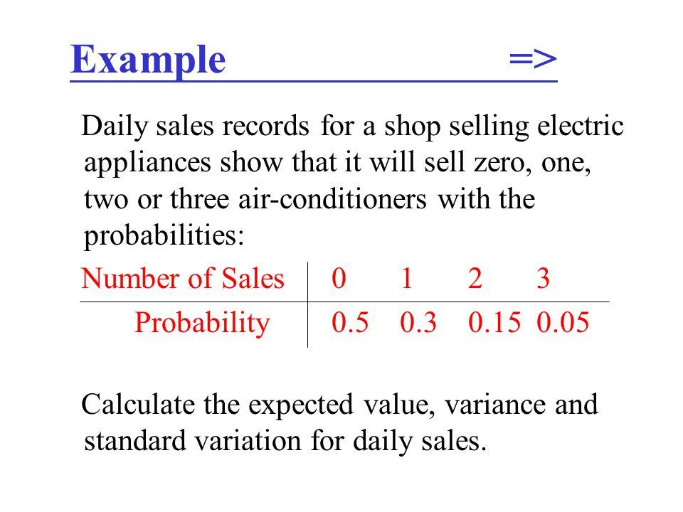 Example =>