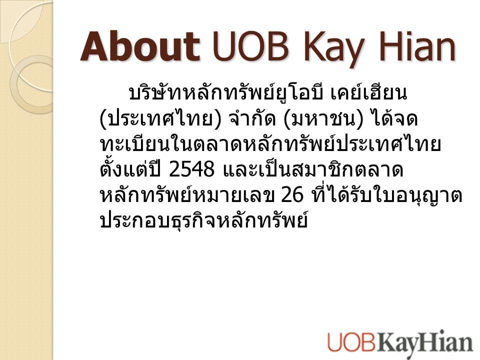About UOB Kay Hian