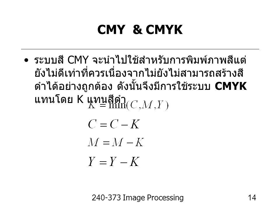 CMY & CMYK