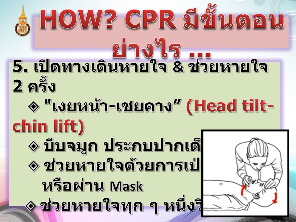 HOW CPR มีขั้นตอนย่างไร ...