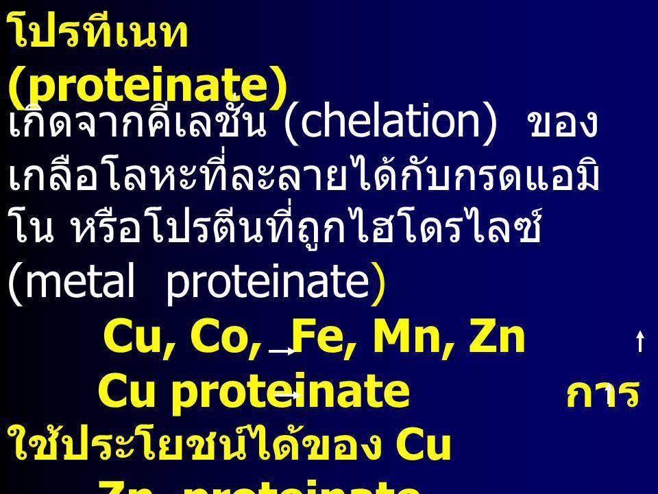 โปรทีเนท (proteinate)