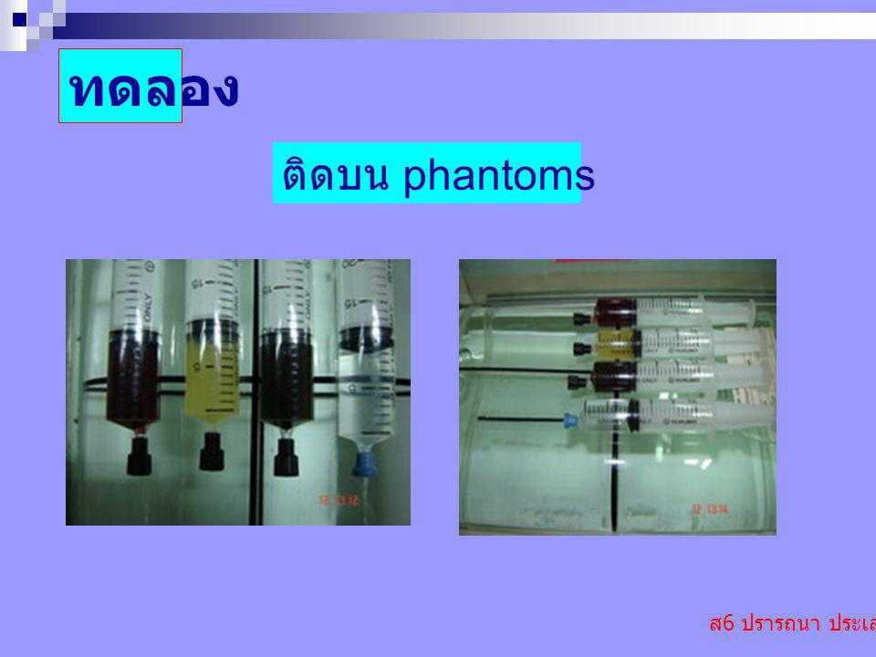 ทดลอง ติดบน phantoms ส6 ปรารถนา ประเสริฐ