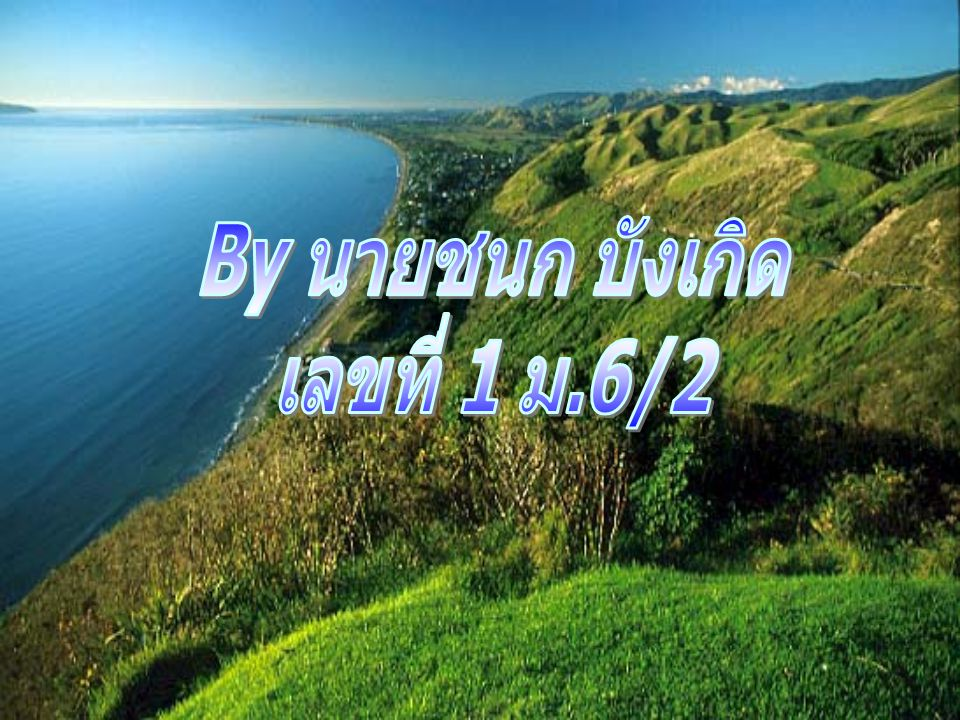 By นายชนก บังเกิด เลขที่ 1 ม.6/2