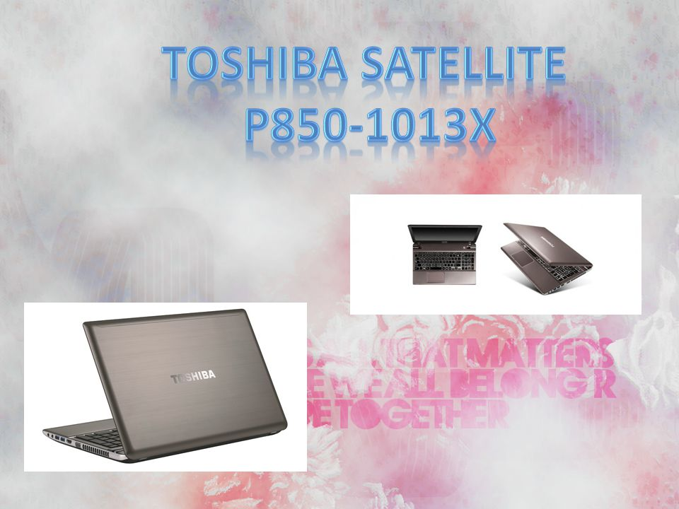 TOSHIBA Satellite P850-1013X