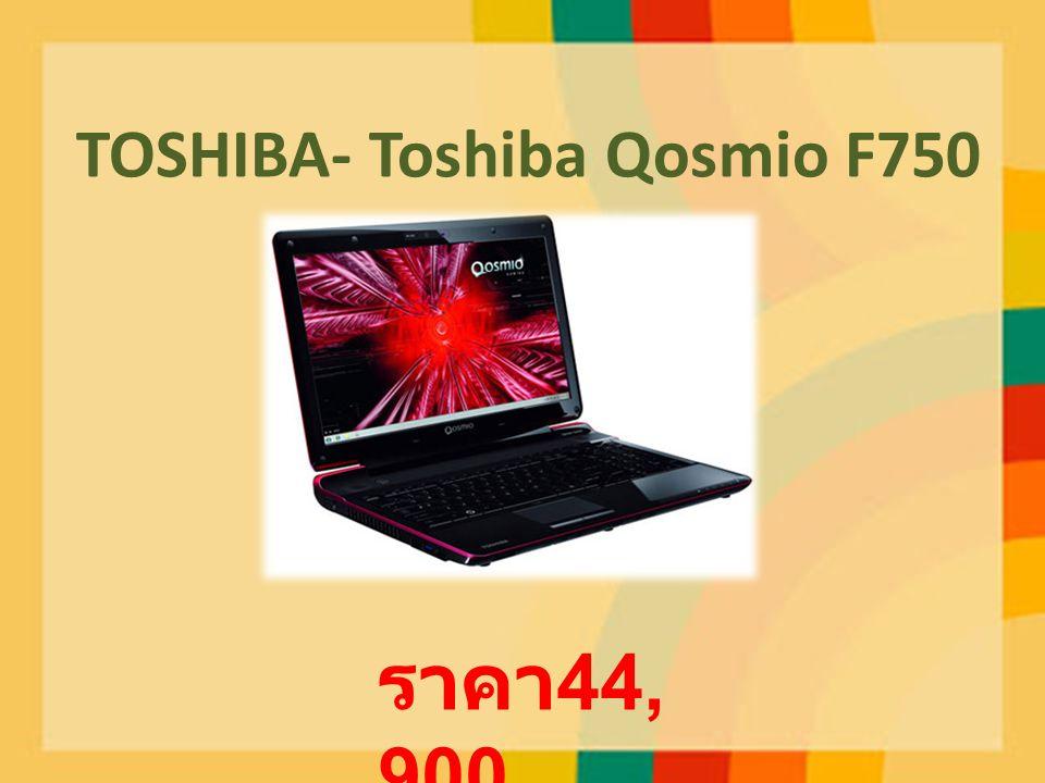 TOSHIBA- Toshiba Qosmio F750