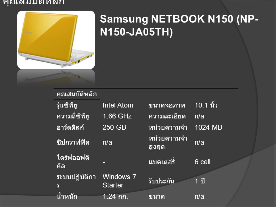 Samsung NETBOOK N150 (NP-N150-JA05TH)