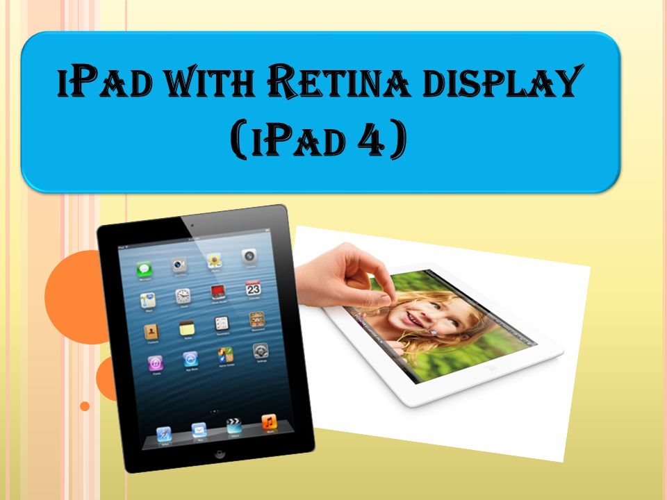iPad with Retina display (iPad 4)