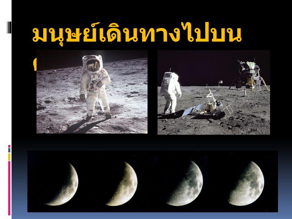 มนุษย์เดินทางไปบนดวงจันทร์