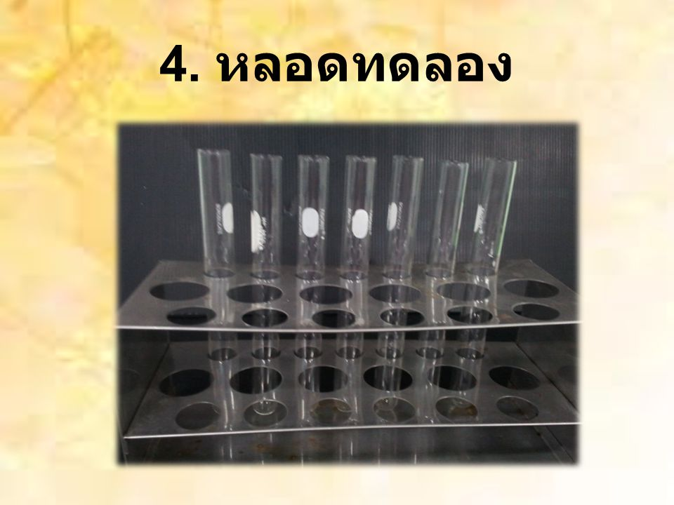 4. หลอดทดลอง