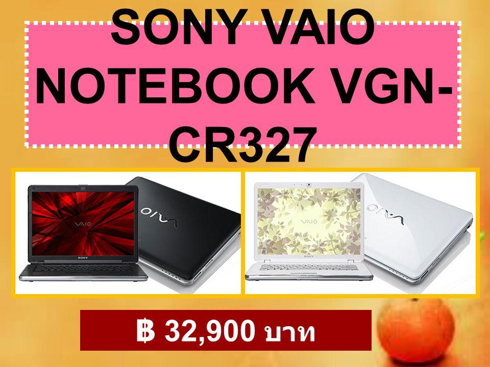 SONY VAIO NOTEBOOK VGN-CR327