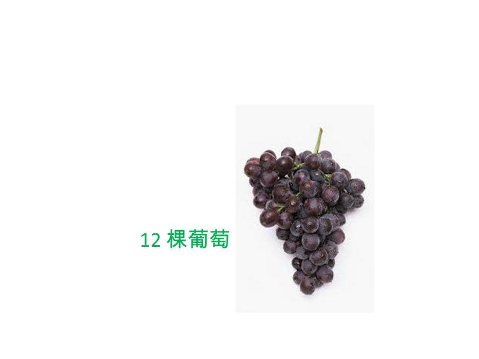 12 棵葡萄