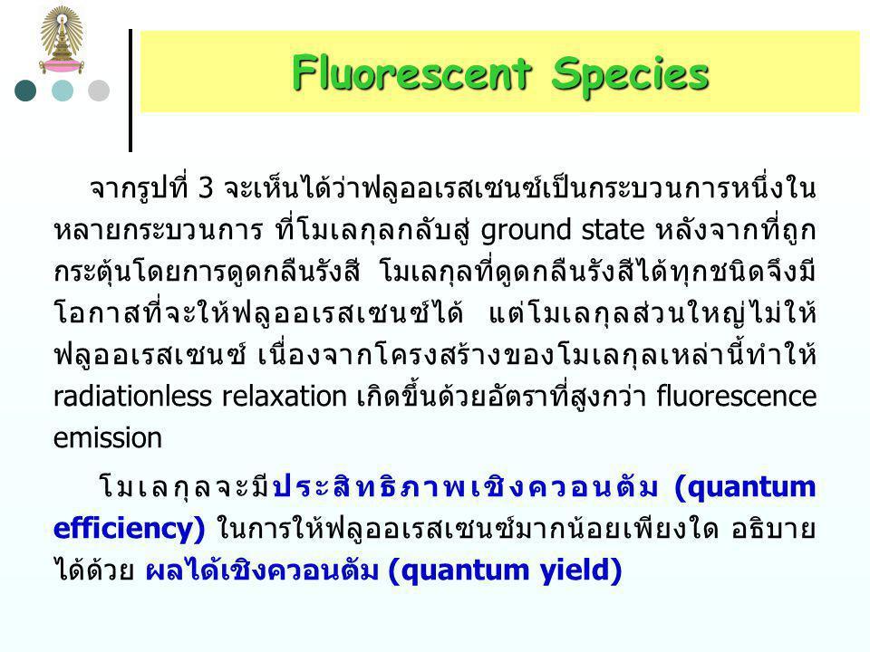 Fluorescent Species