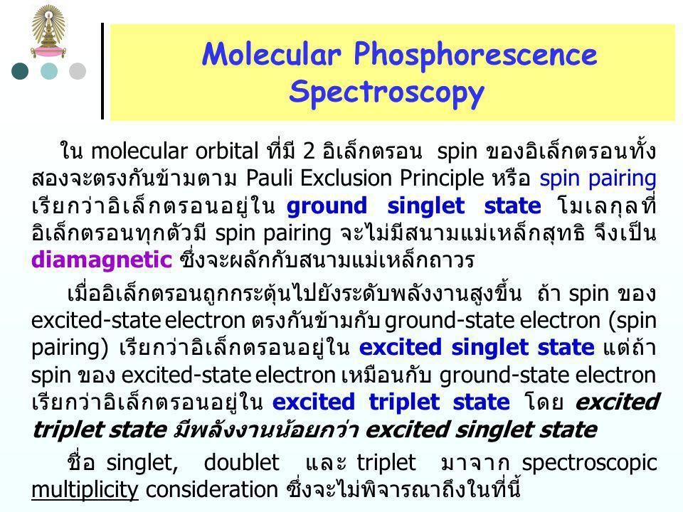 Molecular Phosphorescence
