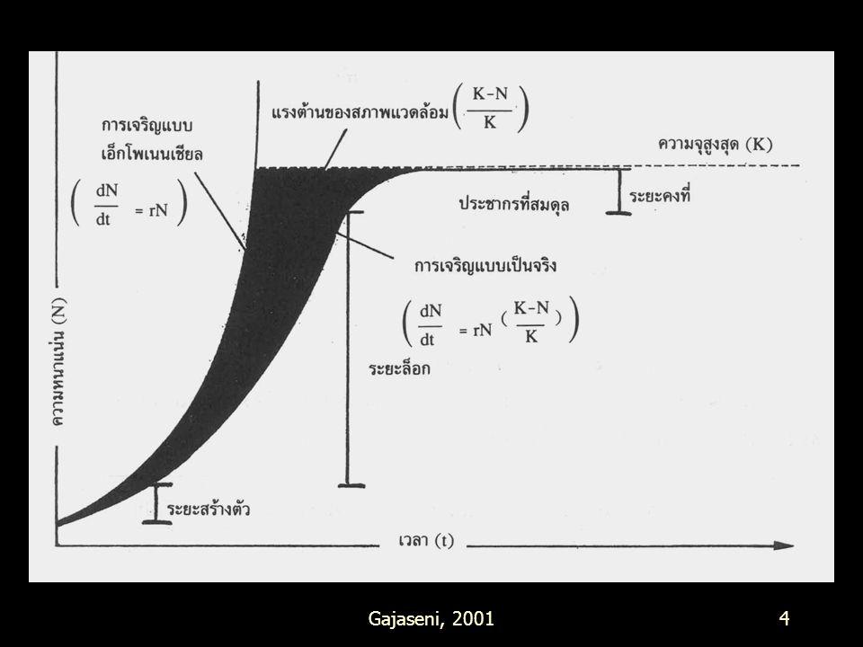 กราฟที่ 40 Gajaseni, 2001