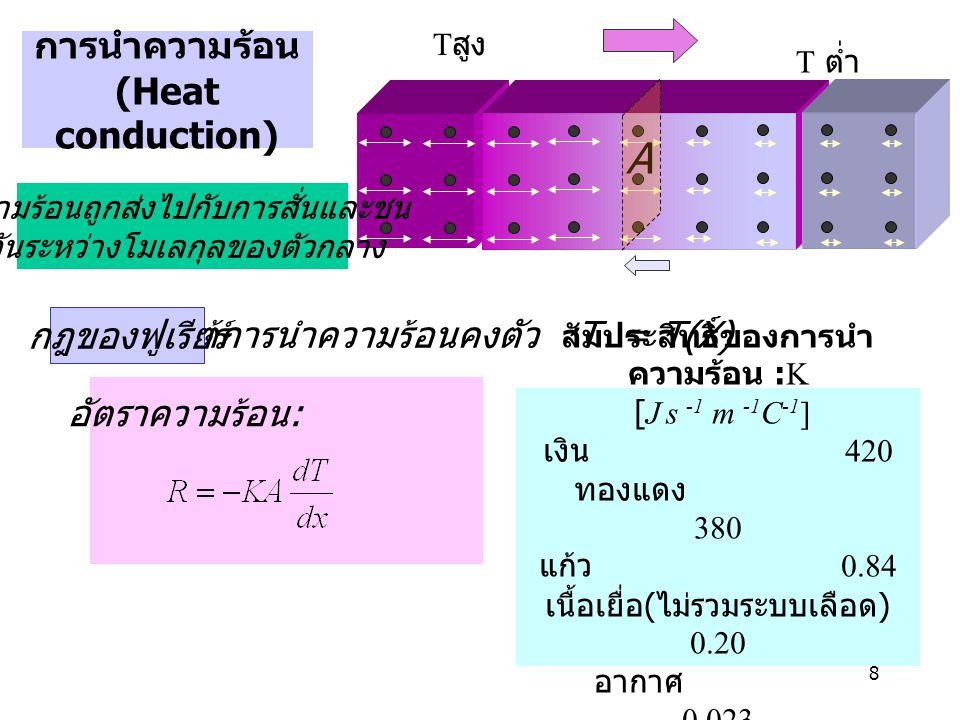 การนำความร้อน (Heat conduction)