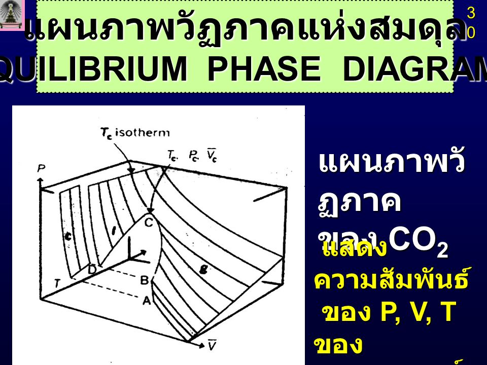 แผนภาพวัฏภาคแห่งสมดุล (EQUILIBRIUM PHASE DIAGRAMS)