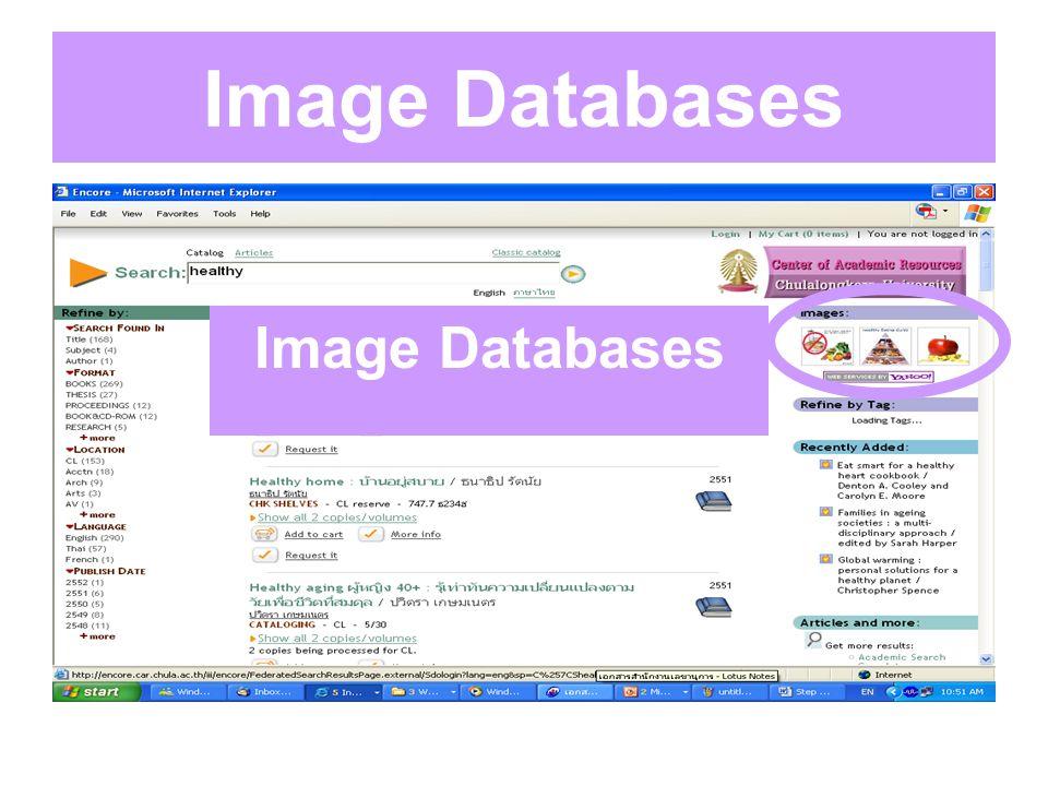 Image Databases Image Databases
