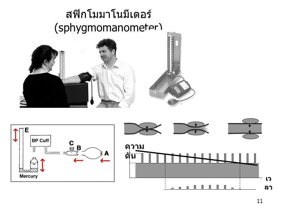 สฟิกโมมาโนมีเตอร์ (sphygmomanometer)