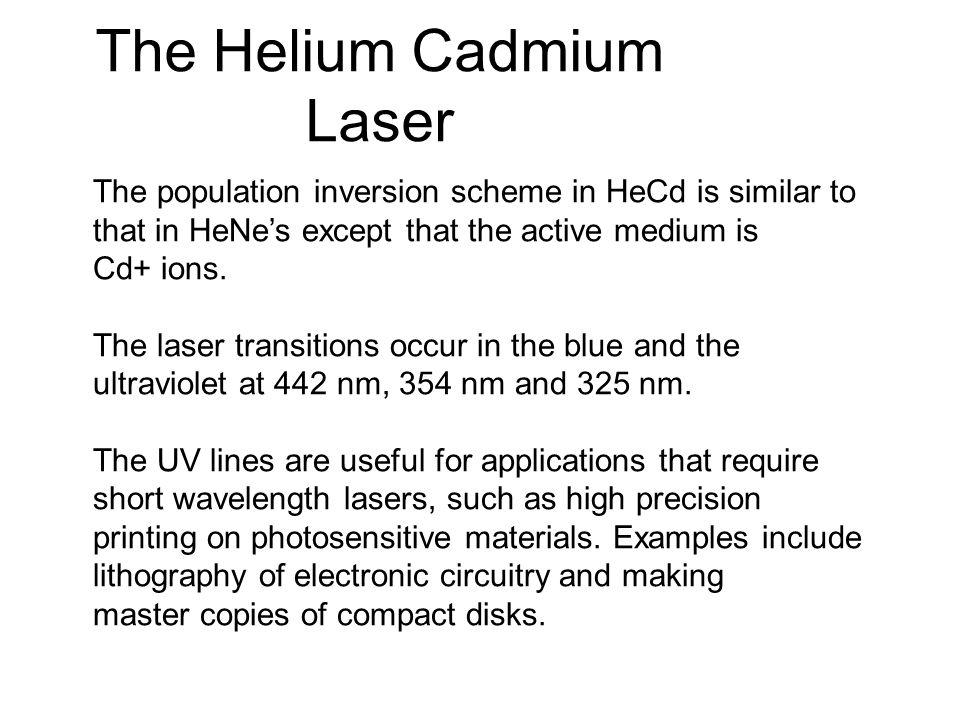 The Helium Cadmium Laser