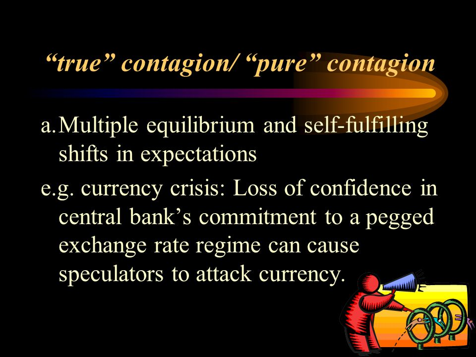 true contagion/ pure contagion