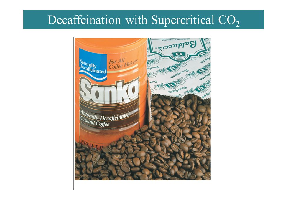 Decaffeination with Supercritical CO2