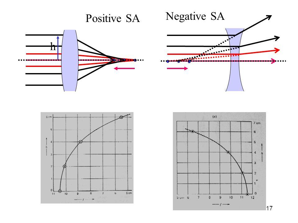 Negative SA Positive SA h
