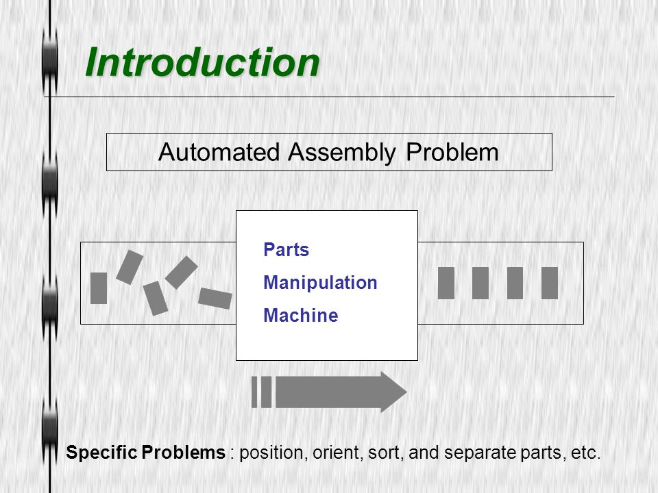 Automated Assembly Problem