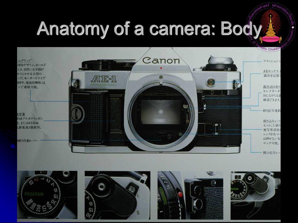 Anatomy of a camera