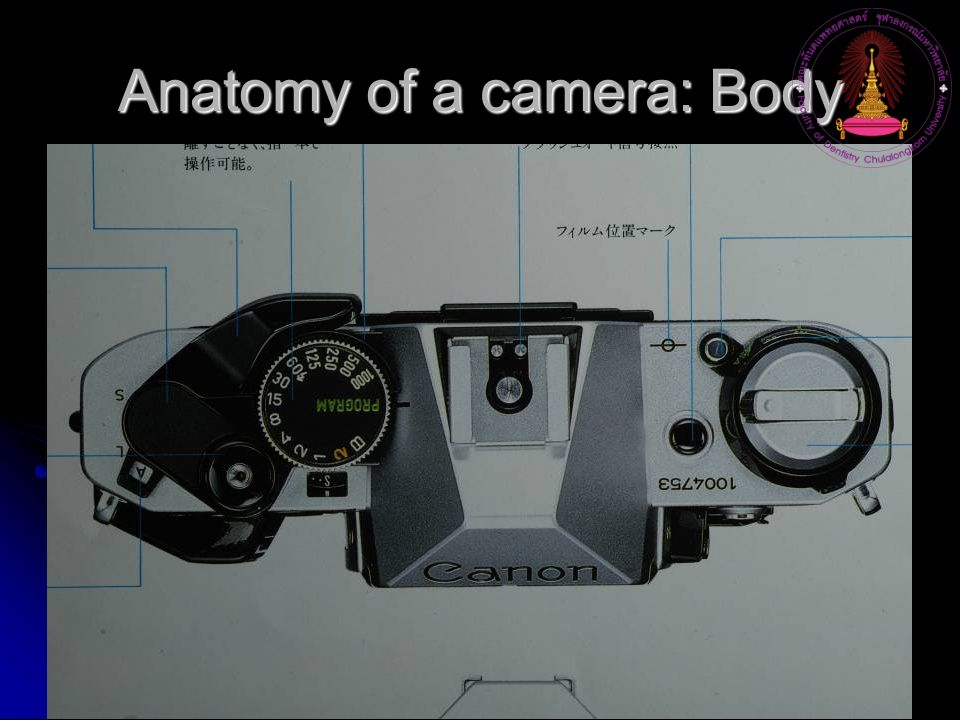 Anatomy of a camera: Body