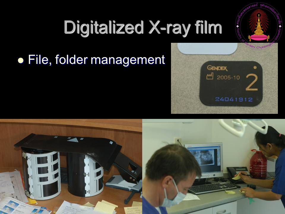 Digitalized X-ray film